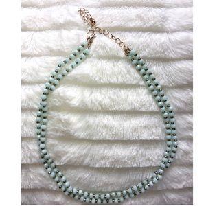 Jewelry - Layered beaded choker